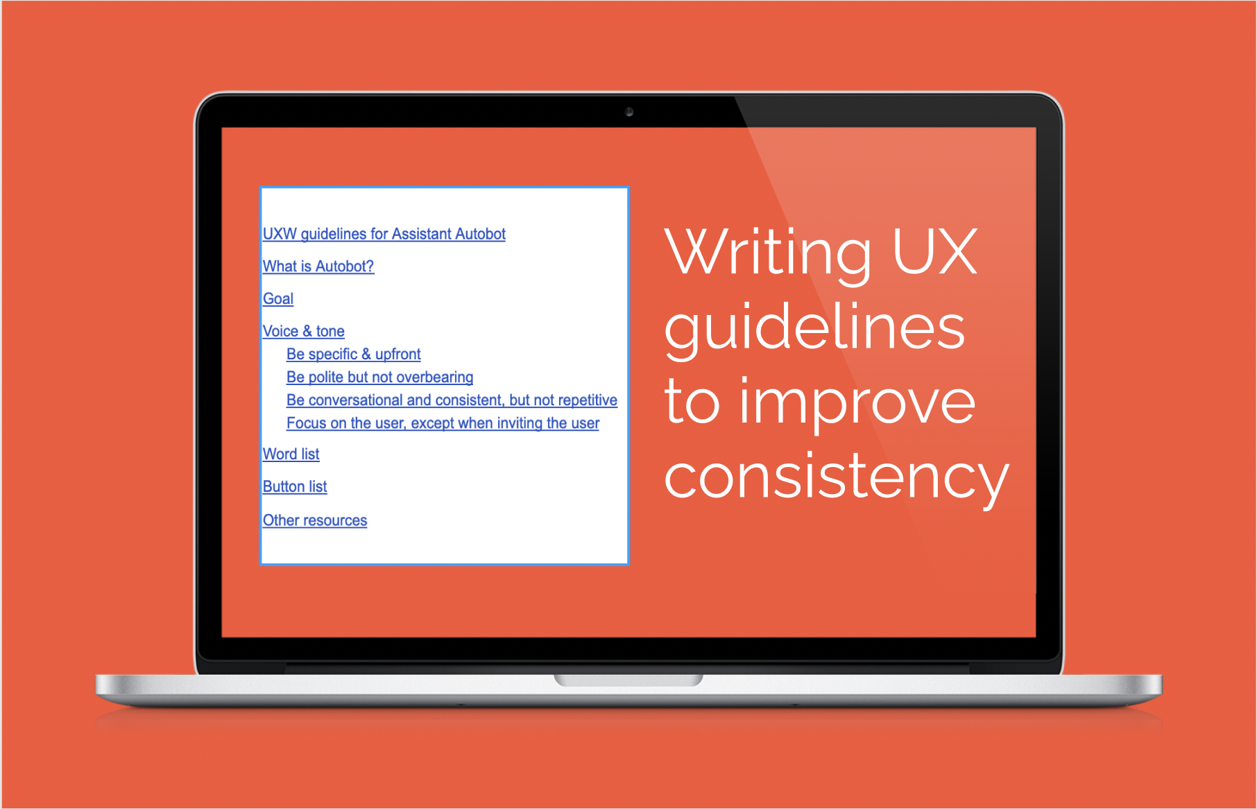 Protected: Create UX Writing guidelines